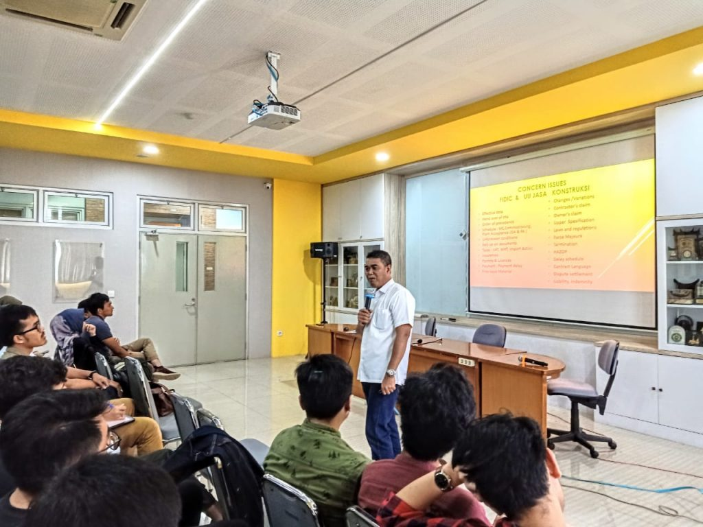 Guest Lecture On Law And Contracts In The Chemical Industry Indonesian Program Studi Teknik Kimia